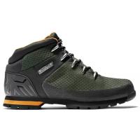 Ботинки Timberland Euro Sprint Fabric Wp Mid Hiker зеленые