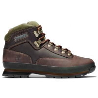 Ботинки Timberland Euro Hiker Mid Hiker темно-коричневые