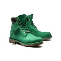 Мужские ботинки Timberland Classic 10061 зеленые демисезонные (36-46)
