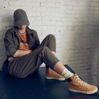 Timberland ботинки 10061 песочные демисезонные