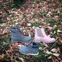 Timberland ботинки 10061 темно-синие демисезонные (36-46)