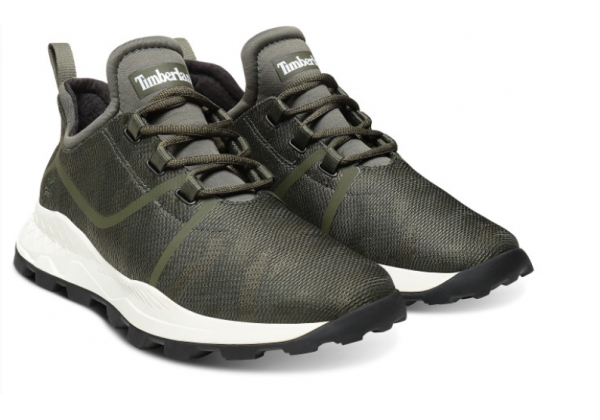 Мужская осенняя обувь Timberland brooklyn fabric oxford green