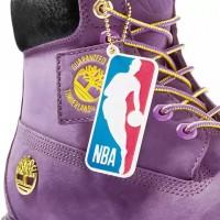 Timberland NBA LOS ANGELES фиолетовые демисезонные