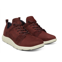 Мужская осенняя обувь Timberland flyroam leather oxford bordo