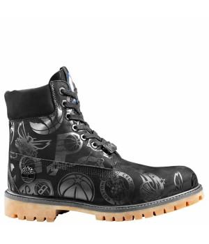Timberland Ботинки NBA LOGO WATERPROOF черные демисезонные