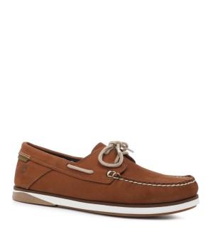 Топсайдеры Timberland Atlantis Break Boat Shoe мужские светло-коричневые