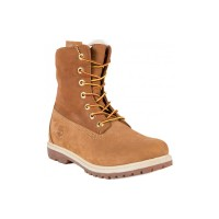 Ботинки Тимберленд Teddy Fleece rust карамельные (36-41)