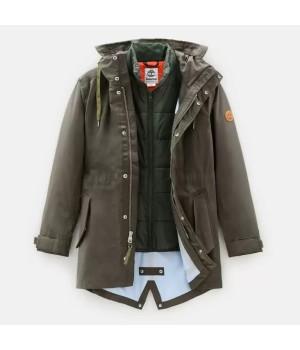 Куртка мужская Timberland Snowdon Parka зеленая