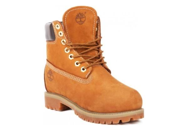 Timberland ботинки 17061 Rust Рыжие зимние с мехом (36-46)