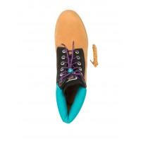 Timberland Ботинки 10060 коричневые с синим (36-40)