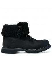Timberland ботинки TEDDY FLEECE черные