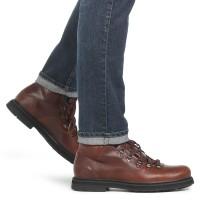 Мужские ботинки TIMBERLAND темно-бордовые