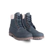 Timberland ботинки 10061 Premium синие женские (36-41)