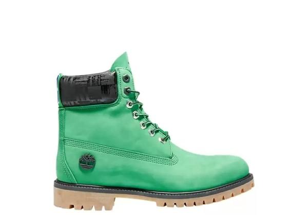 Timberland ботинки 6 inch premium boot nba celtics boston зелёный
