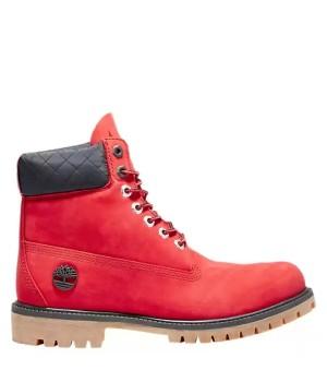 Timberland ботинки 6 inch heritage boot красные