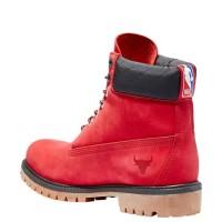 Timberland ботинки 6 inch premium boot nba chicago bulls красные