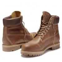 Timberland ботинки 6 inch Premium Boot wp Waterproof коричневые