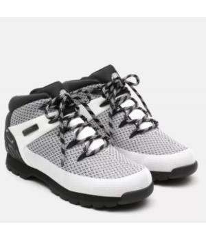Timberland Euro Sprint Fabric Wp Mid Hiker черно-белые