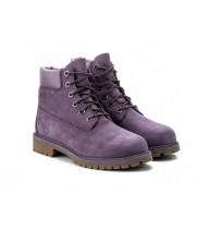 Ботинки женские Timberland Classic 10061 фиолетовые демисезонные (36-41)
