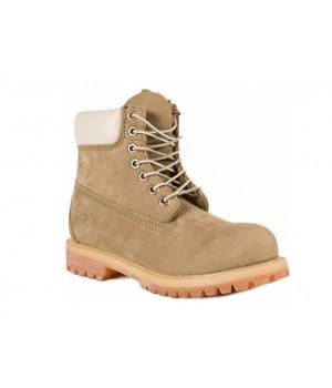 Мужские ботинки Timberland Classic 10061 хаки демисезонные