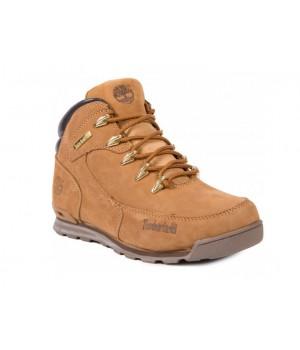 Мужские ботинки Timberland Euro Sprint Rust песочные зимние с мехом