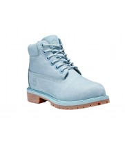 Ботинки женские Timberland Classic 10061 голубые демисезонные (36-40)