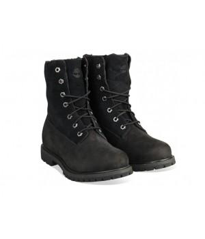 Ботинки Тимберленд Teddy Fleece black черные (36-41)