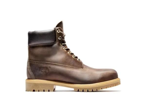 Timberland ботинки 6 PREMIUM коричневые