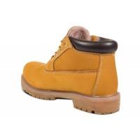 Обувь Timberland Classic 10061 mini желтые зимние с мехом (36-46)