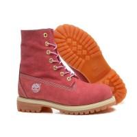 Ботинки женские Timberland  Teddy Fleece Pink Коралловые (36-41)