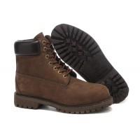 Timberland ботинки 10061 коричневые демисезонные (36-46)