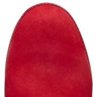 Timberland ботинки 10061 красные демисезонные женские (36-41)