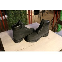 Timberland ботинки 10061 черные демисезонные (36-46)