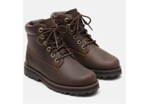Timberland Courma Kid 6 Inch boot коричневые демисезонные