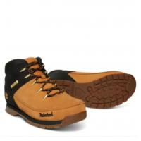 Timberland Euro Sprint Mid Hiker коричневые