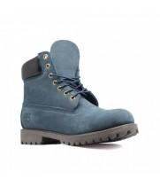Ботинки Timberland голубые мужские