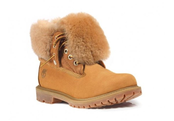 Ботинки Timberland Teddy Albina желтые зимние с мехом (36-41)