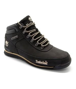 Ботинки Тимберленд Earthkeepers черные зимние с мехом (41-46)