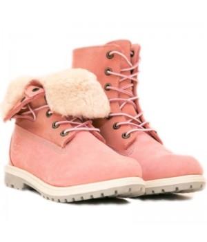 Timberland Teddy Fleece pink розовые (36-41)