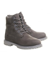 Timberland ботинки 10061 серые демисезонные женские (36-46)