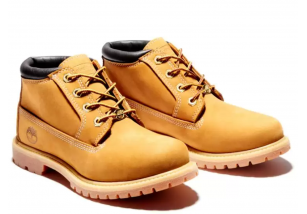 Timberland ботинки Nellie Chukka Double WP Boot желтые